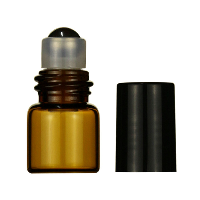 LanJing Blue Amber Pink Green Thick Bottom Roll on Bottles for Essential Oils
