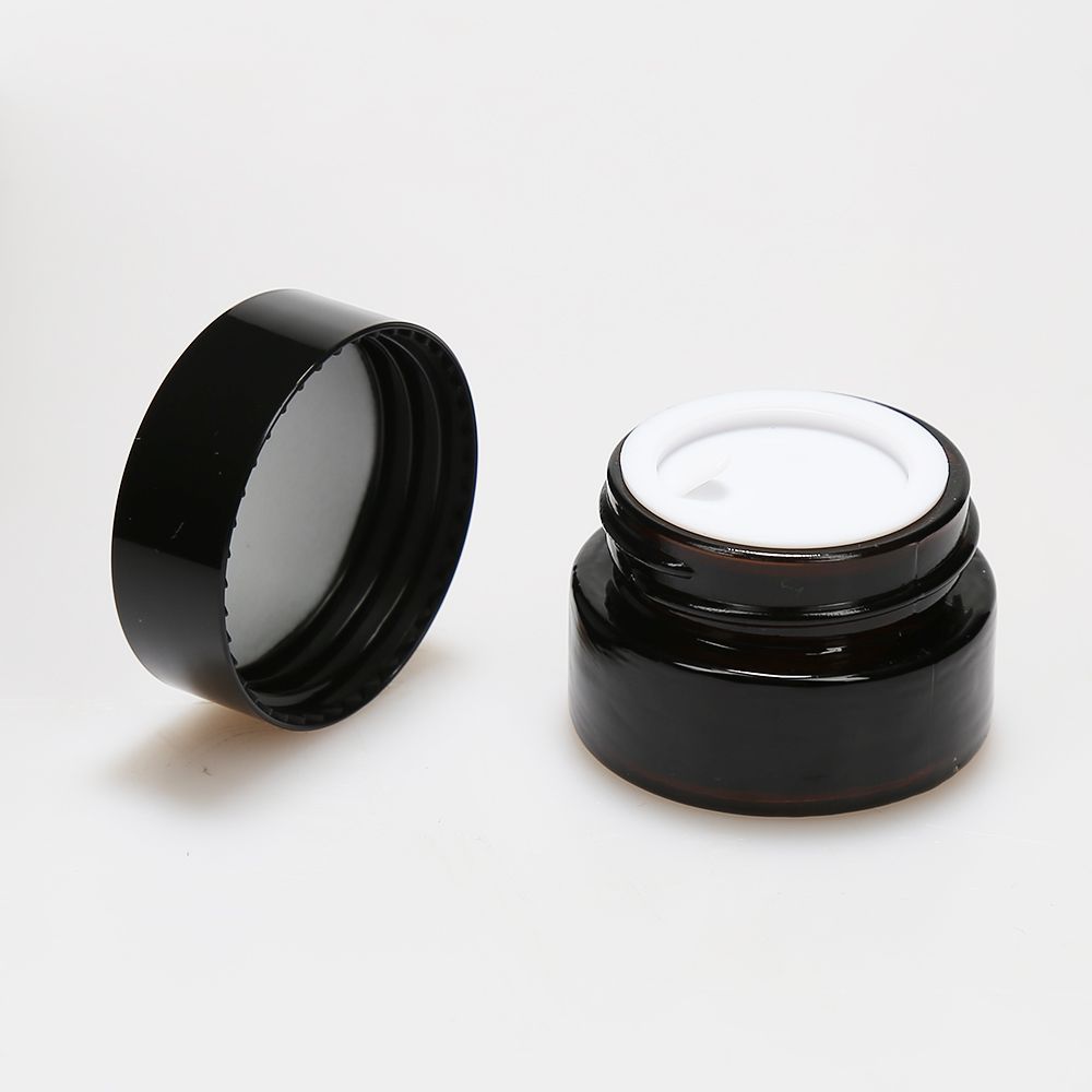 LanJing Glass Cosmetic Jars Wholesale With Lids