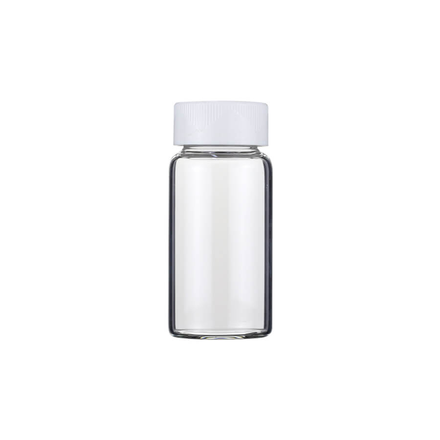7ml/20ml Glass Scintillation Vials with Attached Closures
